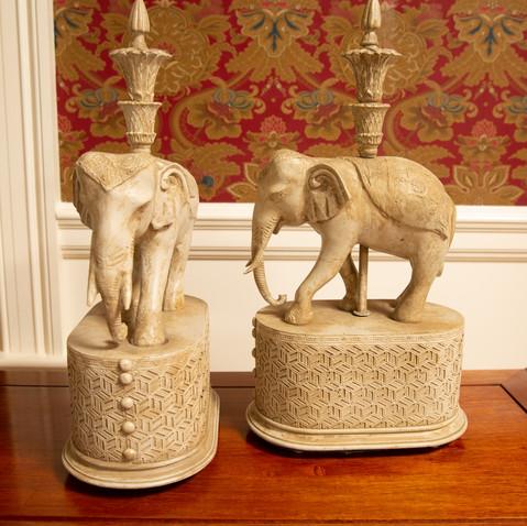 candle elephant holder