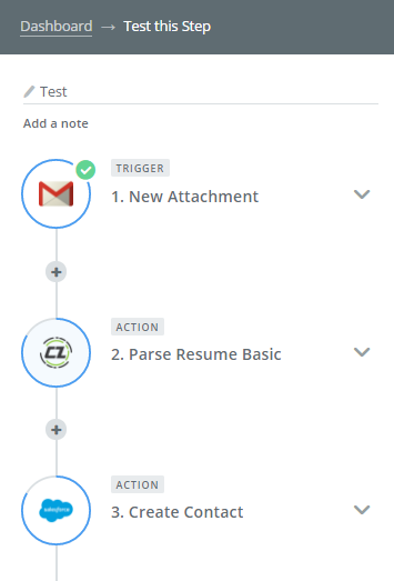 extract text from resume files and automatically create new contactslead custom object in salesforce with the parsed data candidatezip can do both with - What Is Parse Resume