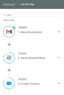 parse resume into your salesforce account no coding best