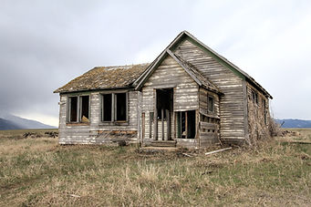Extremely distressed home