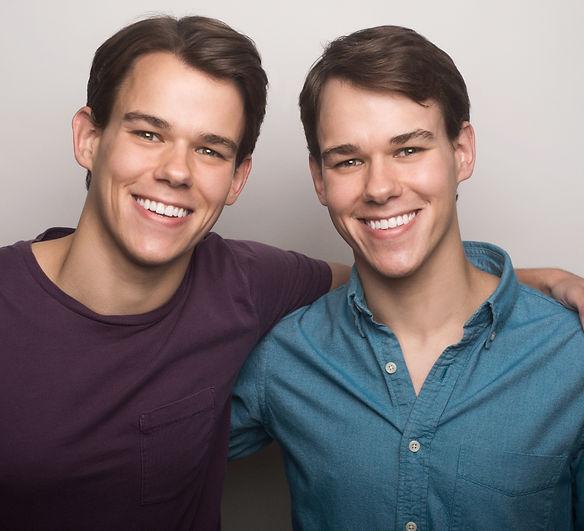 Johnston Twins, Identical Twins, Brandon Johnston and Mitch Johnston