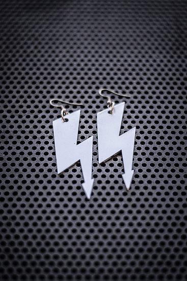 TigerBite Light and Thunder Pierced Earrings