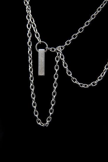 TigerBite men collection chain pendant metal elements