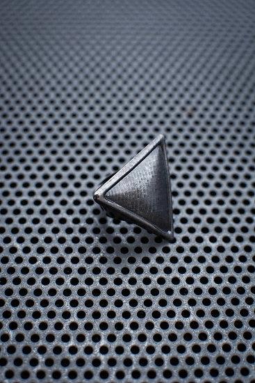 TigerBite Pyramid Gun Metal Adjustable Ring