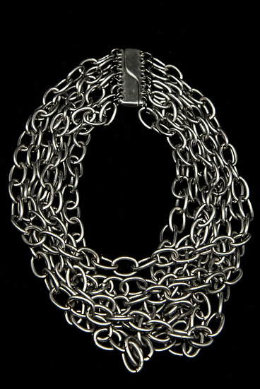 TigerBite FW 18-19 Hundreds Stainless steel chain necklace