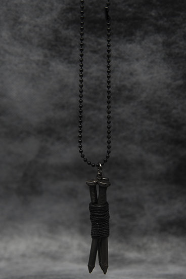 TigerBite For Men Collection Nail pendant chain