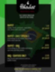 Paladar NYC Dine-in menu