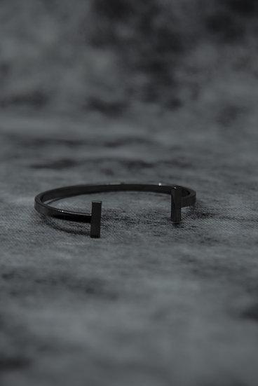 Tigerbite cuff bracelet brass silver coated brass silver coated handmade