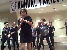 Mary Ann Amick and the Tina Turner Dancers.jpg