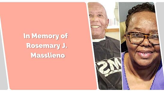 In Memory of Rosemary J. Masslieno