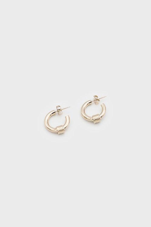 Carrie Gold Earrings