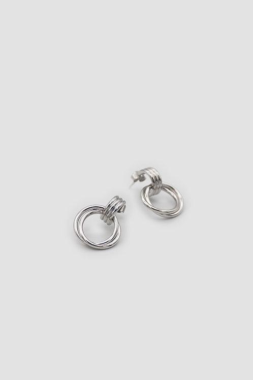 Tatum Palladium Earrings