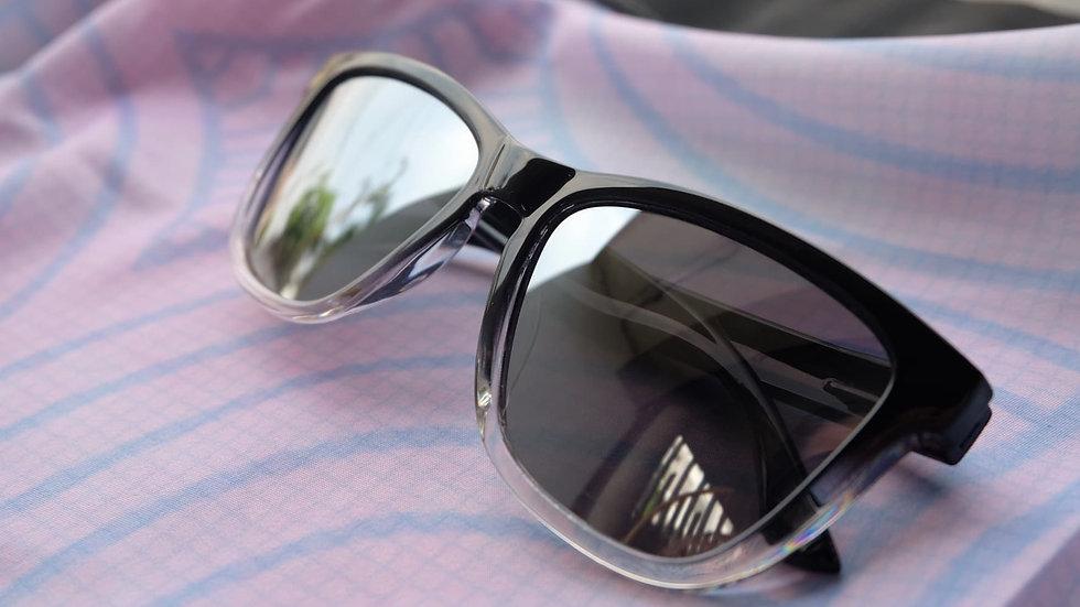 UNK Silver Gradient Sunglass