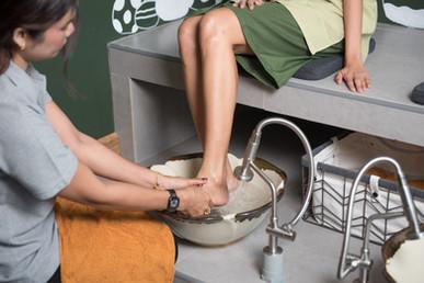 Foot Washing Area
