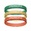 Thumbnail: Tri-Color Wristband (Pack of 3)