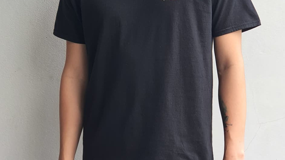 VII x UNK Black T-shirt (Unisex)
