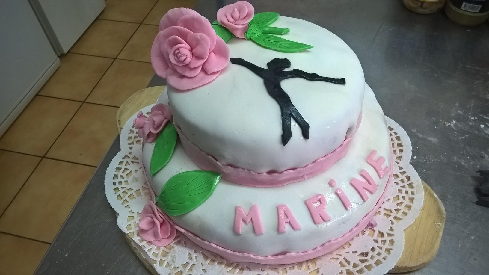 Un gâteau personnalisé