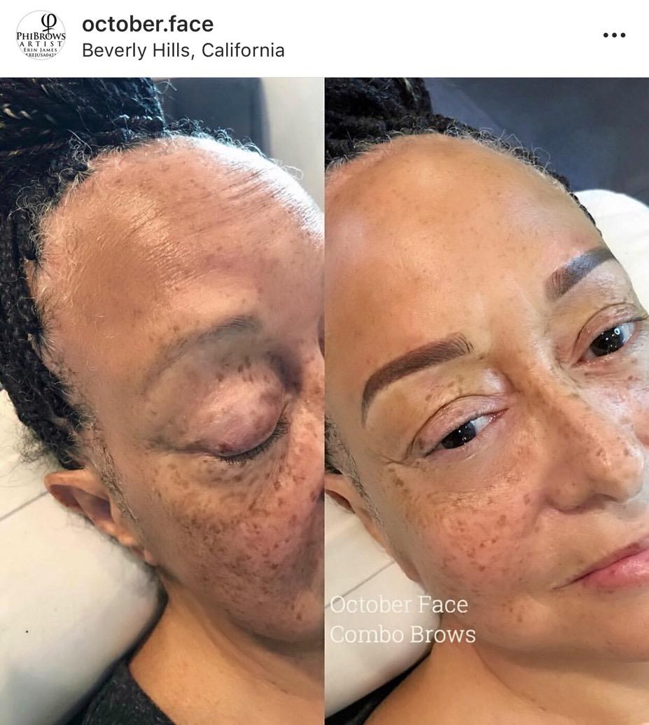 Combo Microshading Eyebrows
