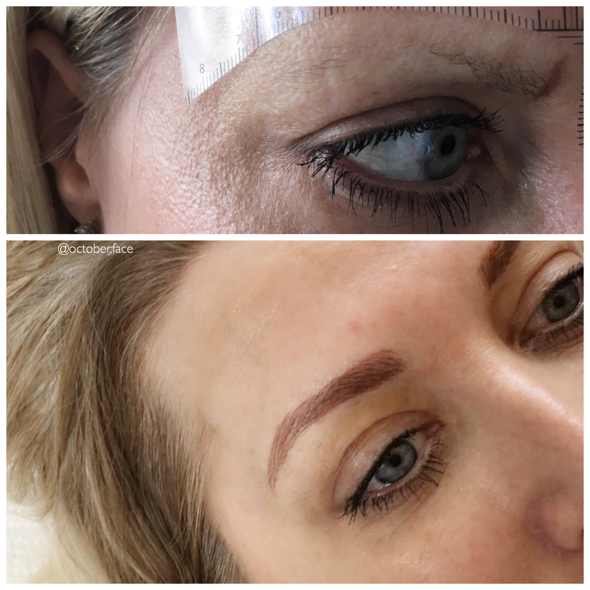 Ombre Brows Blonde
