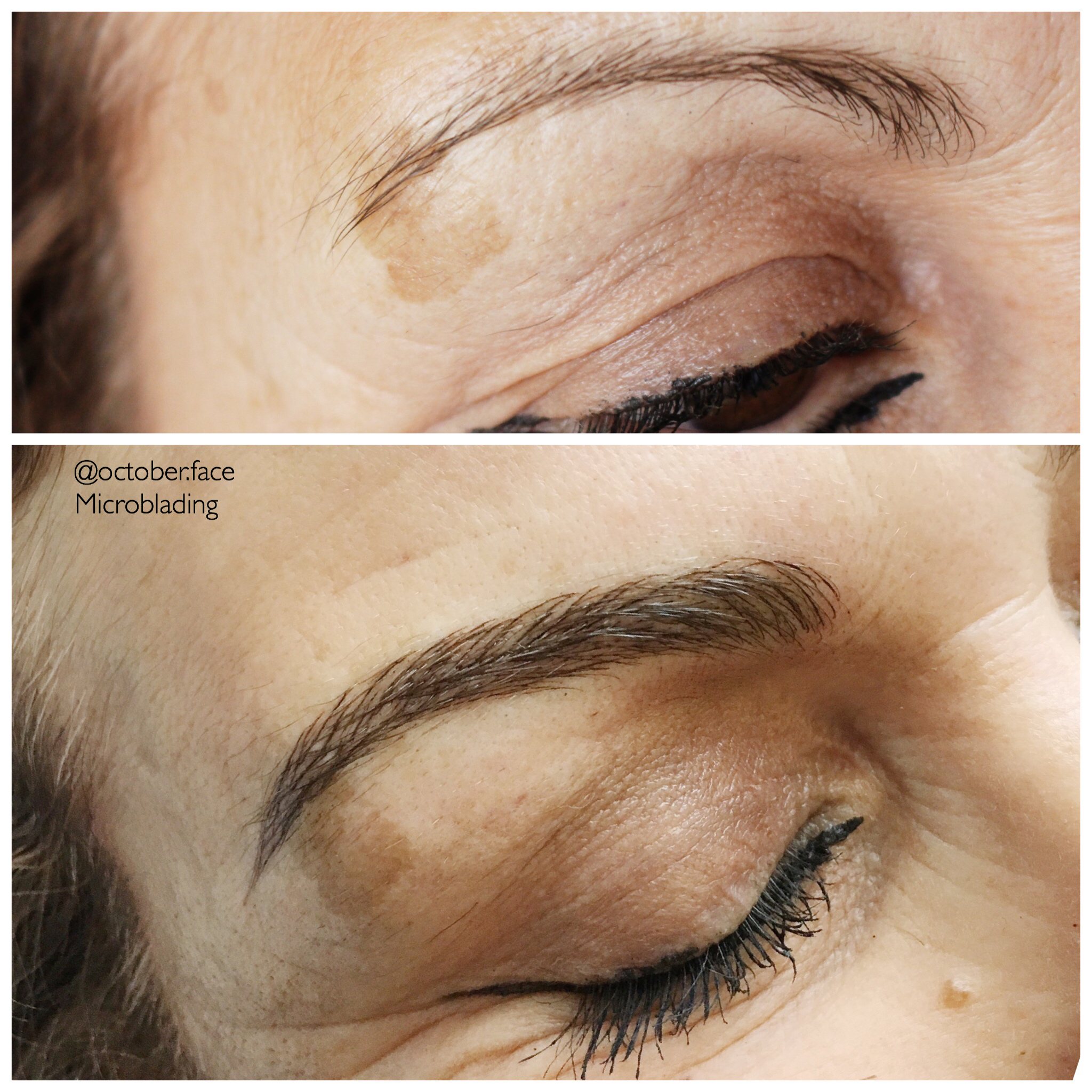 Redhead Microblading Ombre