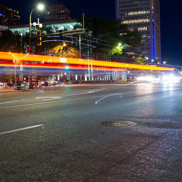 LIGHT TRAILS & LONG EXPOSURE