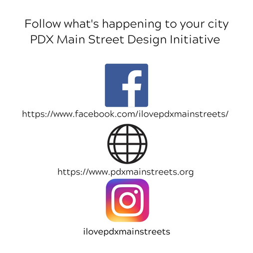 Keep up with PDX Main Street Design Init
