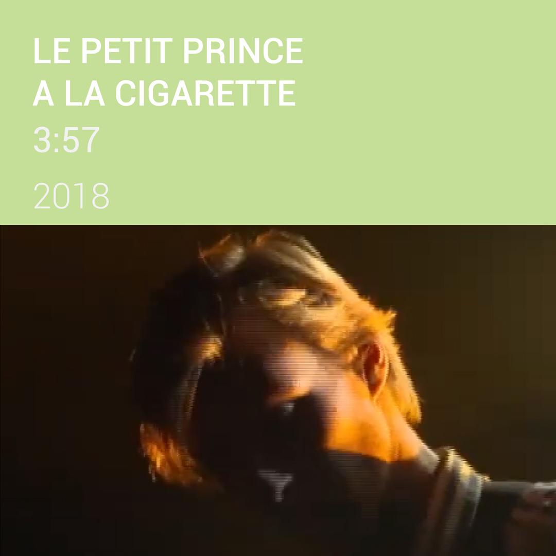 ARA le petit prince à la cigarette