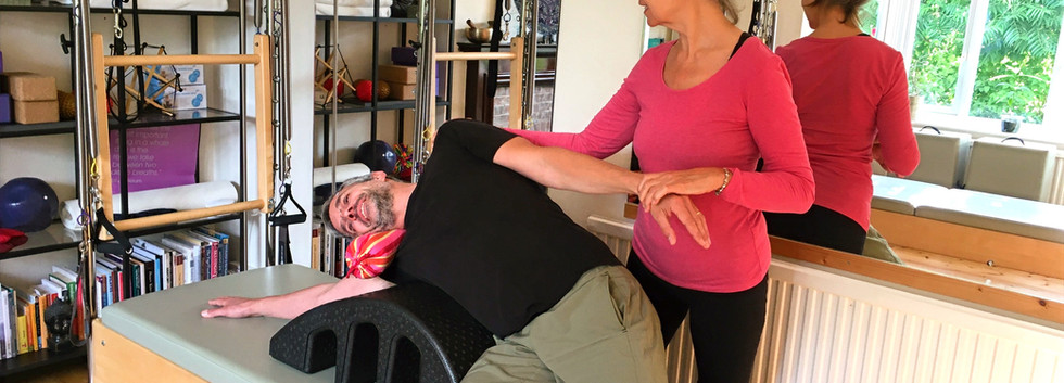 Side Stretch on Spine Corrector