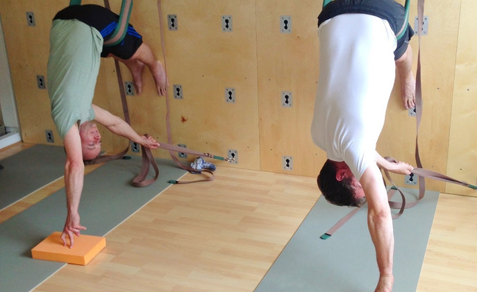 Duet Yoga Wall Session