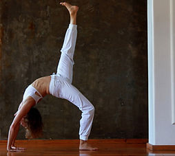 Dynamic Hatha Yoga, Stephanie Ross-Russell, Eka Pada Urdhva Dhanurasana