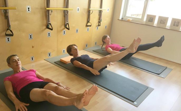 Trio Pilates Mat Work Class