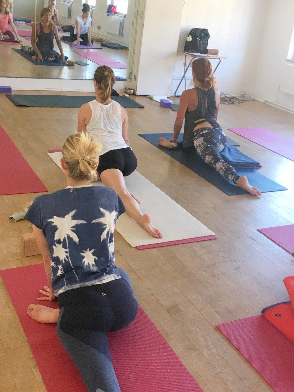 Saturday Open Level Yoga - In person