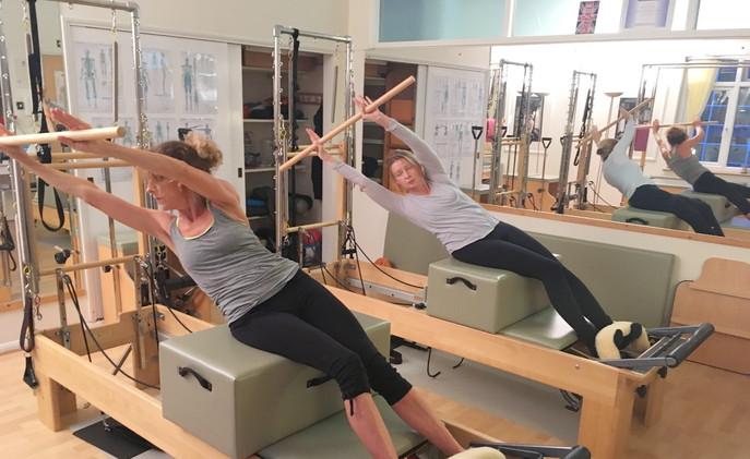 Duet Pilates Session