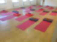 Group Class Yoga Room