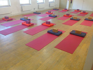 Group Class Yoga Room