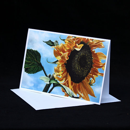 Note Card - Sunflower