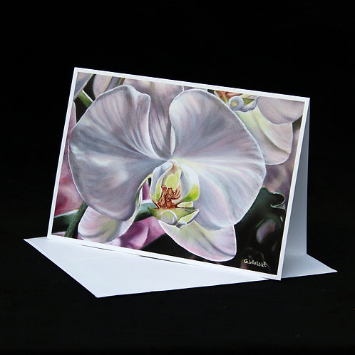 Note Card - The Orchid