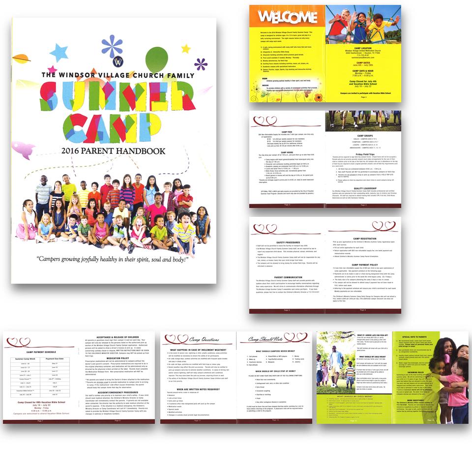 Tabloid Booklet
