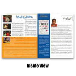 Newsletter Inside view