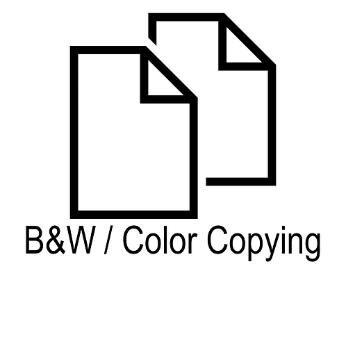 B/W & Color Copying