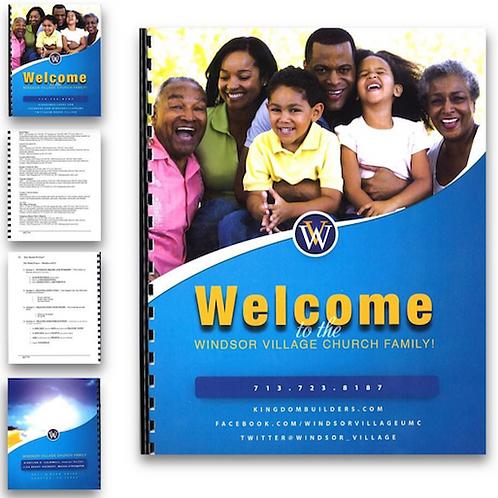 Ministry Program 3 Ring Binder