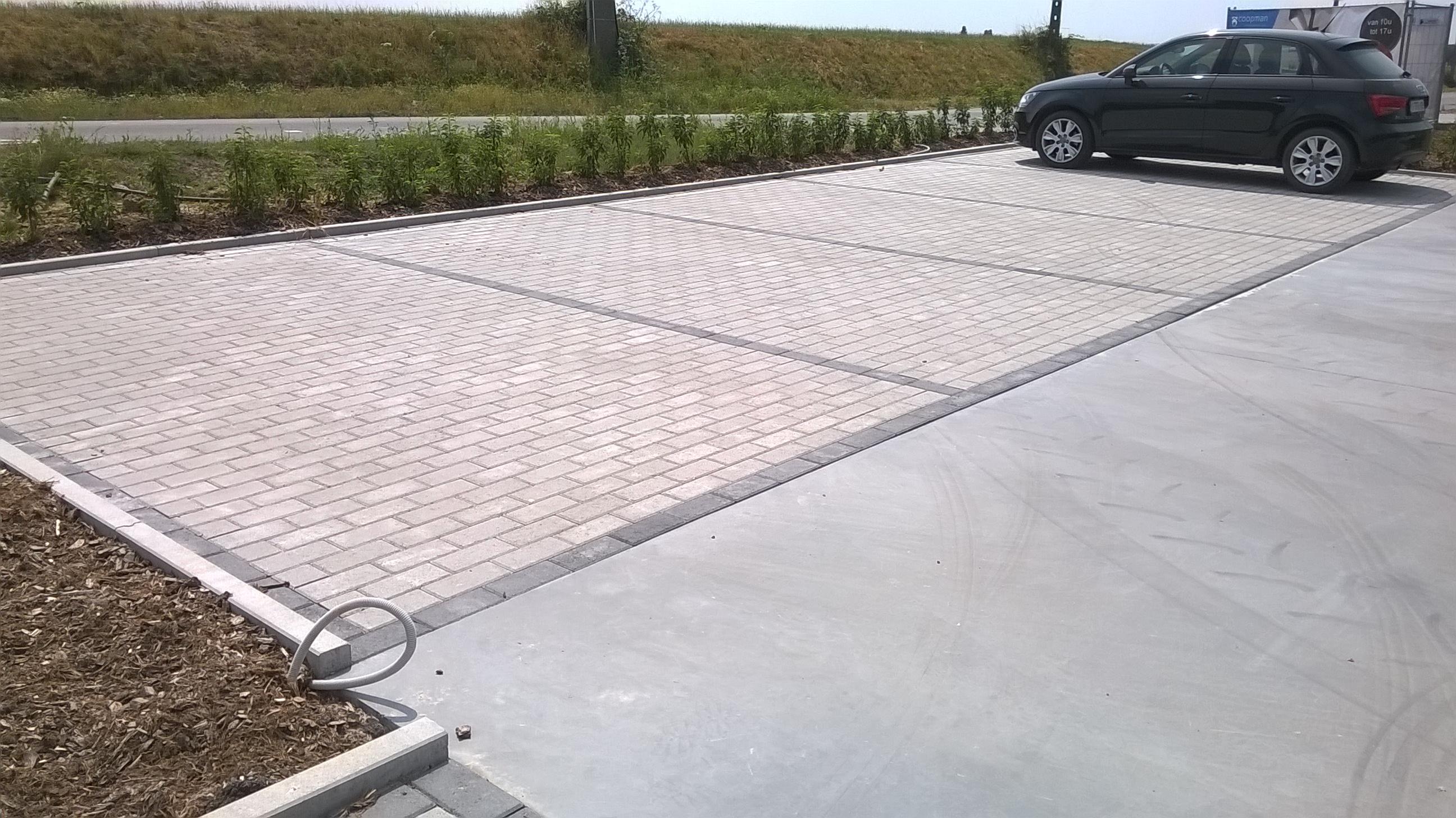 parking betonklinker