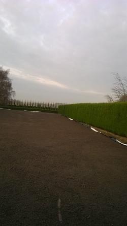 plaatsen drainagelaag