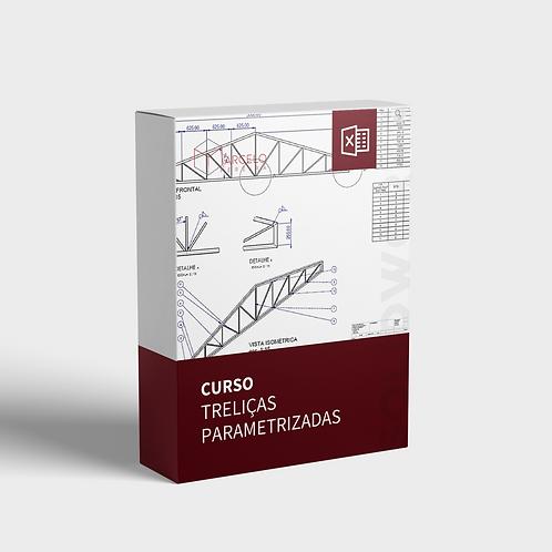 Treliças Parametrizadas - TABELA EXCEL