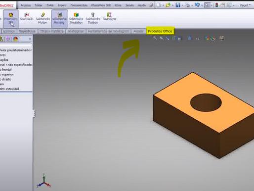 Como renderizar o seu projeto no SolidWorks