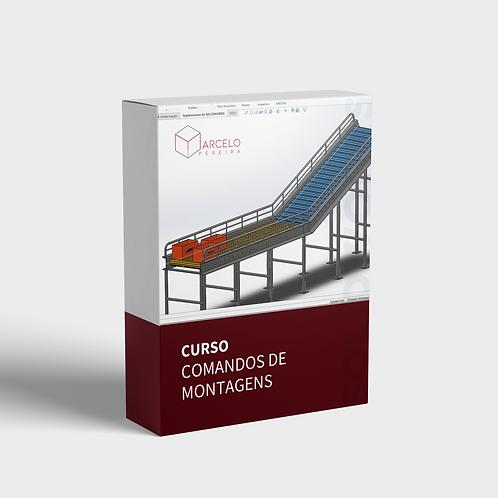 SolidWorks Comandos Montagens