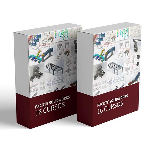 16 Cursos SolidWorks