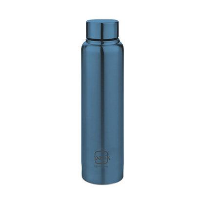 Basik Shine Pro 800 Stainless Steel Bottle, Green
