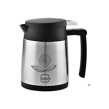 Basik Uranus Stainless Steel Insulated Flask, Black