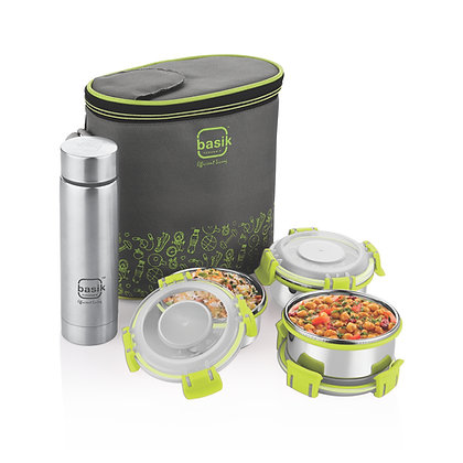 Basik Featherline Click & Sip 4 Lunch Pack